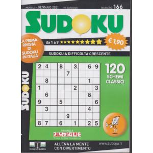 Sudoku - n. 166 - mensile - gennaio 2021
