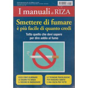 I Manuali di Riza -Smettere di fumare è più facile di quanto credi - n. 28 - bimestrale -ottobre - novembre 2021