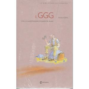 La biblioteca dei ragazzi -Il GGG - n. 10  -  Roald Dahl -   settimanale - 13/3/2021