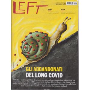Left Avvenimenti - n -24  - settimanale -  18 giugno -24 giugno 2021 -  settimanale