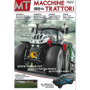Macchine Trattori - n. 219 -settembre   2021 - mensile