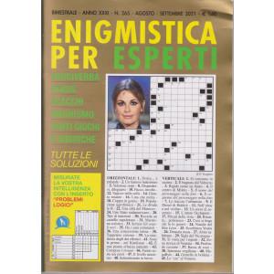Enigmistica per esperti - n. 265 - bimestrale - agosto - settembre  2021