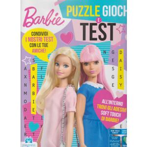 Barbie puzzle giochi e test - n. 2 - maggio - giugno 2021 - bimestrale