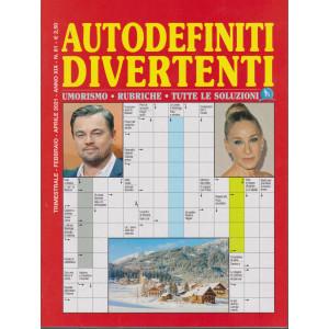 Autodefiniti  divertenti - n. 81 - trimestrale - febbraio - aprile 2021