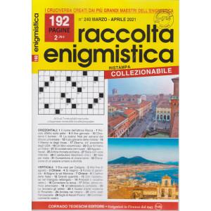 Raccolta Enigmistica - n. 240 -marzo - aprile  2021- 192  pagine