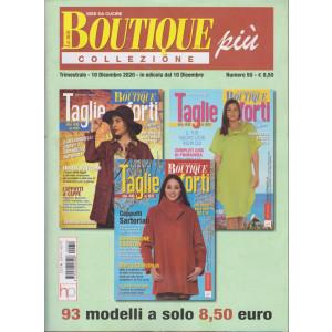 La mia boutique più collezione - n. 50- trimestrale - 10 dicembre 2020 - - 3 numeri
