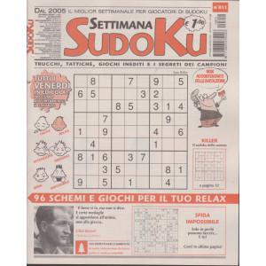 Settimana Sudoku - n. 811- settimanale -26 febbraio  2021