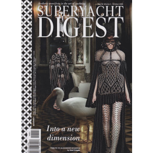 Superyacht Digest - n. 3 -October 2020 -  Into a new dimension - in lingua inglese