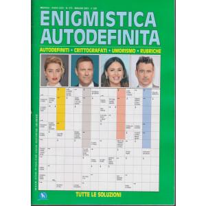 Enigmistica Autodefinita - n. 375 - mensile -maggio   2021