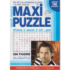 Maxi Puzzle - n. 163 - aprile - maggio  2021- trimestrale - 200 pagine