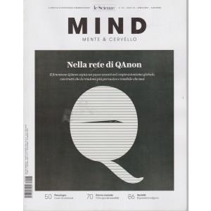 Le Scienze - Mind - Mente & Cervello - Nella rete di QAnon -  n. 196 - aprile  2021 - mensile