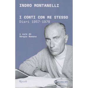 Indro Montanelli - I conti con me stesso - Diari 1957-1978 - mensile - 284 pagine