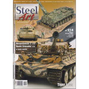 Modellismo Steel Art - n. 214 - mensile - ottobre 2021