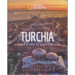 National Geographic - Turchia - Istanbul e la magia tra oriente e occidente-  n. 34 - 23/4/2021 - settimanale - copertina rigida