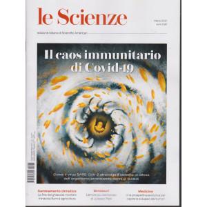 Le Scienze -Il caos immunitario di Covid - 19 -  n. 631 -marzo 2021 - mensile