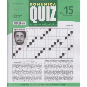 Domenica Quiz - n. 15- settimanale -15 aprile  2021