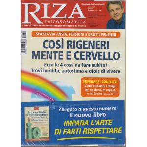 Riza Psicosomatica - Così rigeneri mente e cervello + Impara l'arte di farti rispettare - n. 480 - mensile - febbraio 2021-  2 riviste