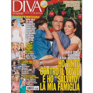 Diva e donna - n. 1 - settimanale femminile -5 gennaio 2021