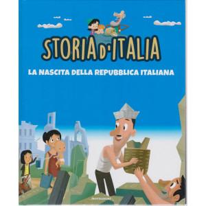 Storia d'Italia -La nascita della repubblica italiana  - n. 40   -18/5/2021 - settimanale - copertina rigida