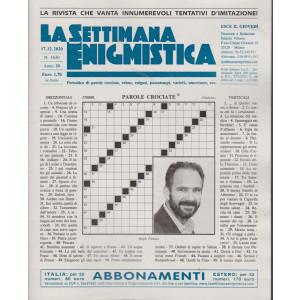 La Settimana Enigmistica - n. 4630 - 17/12/2020 - settimanale