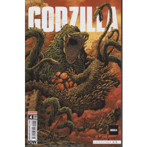 Godzilla - n. 4 - Cataclisma 2/3 -  mensile - 21/1/2020