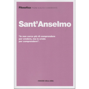 Filosofica  -Sant'Anselmo  - n. 15  - settimanale - 223  pagine