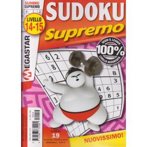 Sudoku Supremo - n. 19 - livello 14-15 - bimestrale-novembre - dicembre 2021