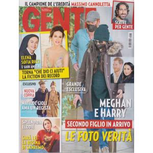 Gente - n. 1 - settimanale - 16/1/2021