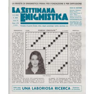 La Settimana Enigmistica - n. 4651 - 13/5/2021 - settimanale