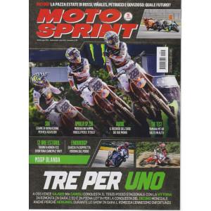 Motosprint - n. 29 - 20/26 luglio 2021 - settimanale