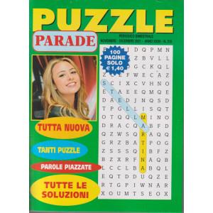 Puzzle Parade - n. 318 - bimestrale -novembre - dicembre  2021- 100 pagine