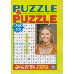 Puzzle & Puzzle - n. 170 - bimestrale -giugno - luglio  2021 - 196 pagine