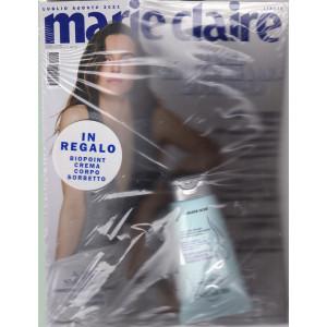 Marie Claire -      n. 8   -luglio - agosto   2021 - mensile + in regalo Biopoint crema corpo sorbetto