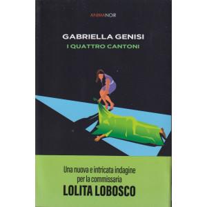 Anima Noir -Gabriella Genisi - I quattro cantoni  - n. 13  - 17/9/2021 - settimanale -300  pagine