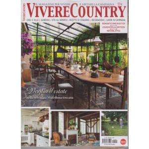 Vivere Country - n. 142 - mensile -giugno  2021 + Casa Chic - 2 riviste