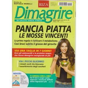 Dimagrire - n. 228 - Pancia piatta. Le mosse vincenti.  -  mensile - aprile  2021