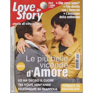 Love Story - n. 10 - 16 marzo 2021 - settimanale