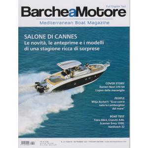 Barche a  Motore - n. 21 -agosto - settembre  2021  - Full english text