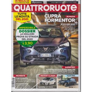 Quattroruote +Q Prove su strada - Il meglio del 2020 - n. 785 - gennaio 2021 - mensile - 2 riviste