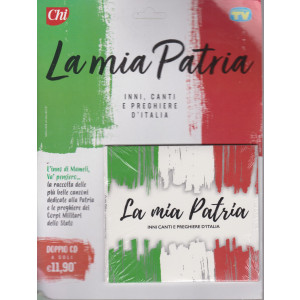 Cd Sorrisi Canzoni -n. 12- La mia Patria - doppio cd - 1/6/2021 - settimanale