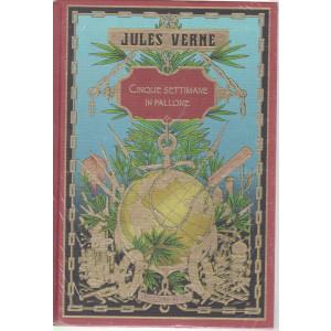 Jules Verne - Cinque settimane in pallone- 2/4/2021 - settimanale - copertina rigida