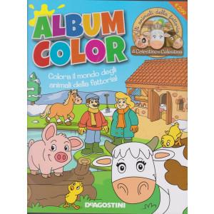 Album color Gli animali della fattoria di Celestino e Celestina - n. 25 - aprile 2021 - bimestrale -