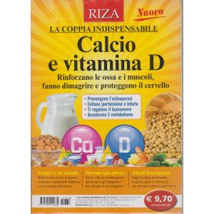 Riza Scienze - n. 376 - Calcio e vitamina D -  Gennaio - febbraio 2021