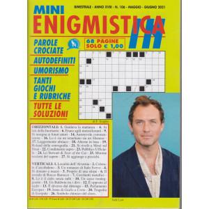 Mini Enigmistica In - n. 106 - bimestrale - maggio - giugno  2021 - 68 pagine