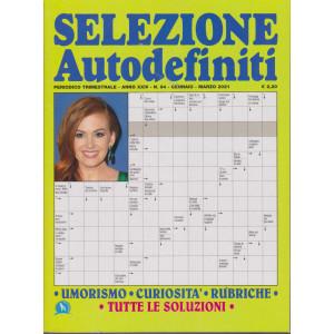 Selezione Autodefiniti - n. 94 - trimestrale  gennaio - marzo 2021-