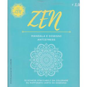Zen Mandala e Disegni Antistress -n. 1 bimestrale - giugno - luglio 2021 -