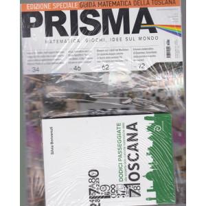 Prisma  - n. 31 -giugno 2021 - mensile + LibroGuida matematica della Toscana - rivista + libro