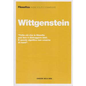 Filosofica  -Wittgenstein   - n. 17  - settimanale - 207  pagine