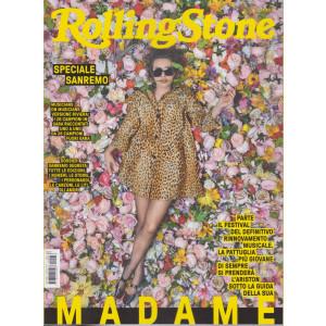 Rolling Stone   - n. 1 - mensile -febbraio 2021 -