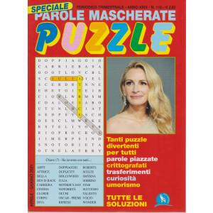 Speciale Parole Mascherate puzzle - n. 110 - trimestrale - aprile - giugno  2021